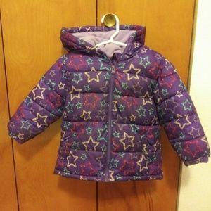 18 month girls faded glory winter coat